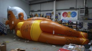 London Mayor OK's Balloon Depicting Him in a Bikini
