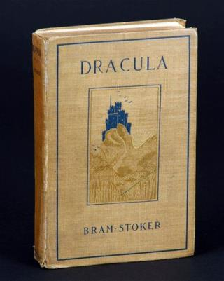 Library: Bram Stoker Defaced These Books Writing Dracula