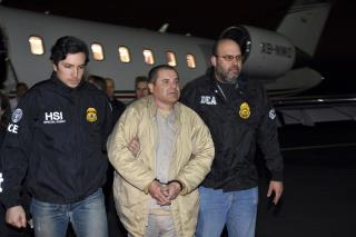 'El Chapo' Waiting to Hear on Whether He Can Hug His Wife