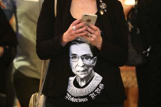 RBG Out of Hospital and 'Doing Great'