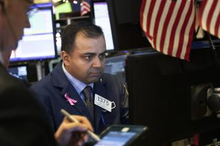 US Stocks End Bumpy Day Slightly Higher