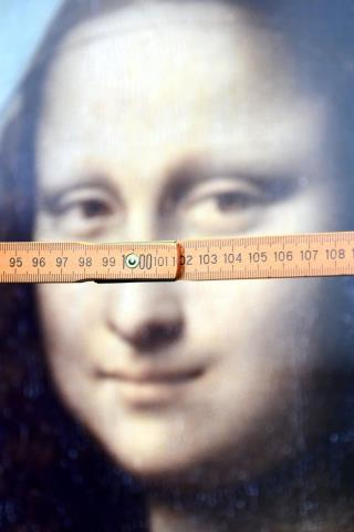Study: Mona Lisa's Gaze Isn't All That