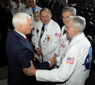 Pence: We'll Be Back on the Moon by 2024