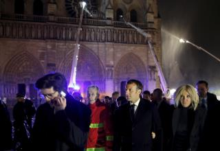 Macron Promises to Rebuild Notre Dame Within 5 Years