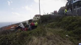 29 Dead in Tour Bus Plunge