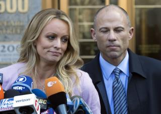 Avenatti Charged Over His Work for Stormy Daniels
