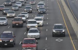 Hearse Driver In Las Vegas Nevada Carpool Lane Tried To Count Body