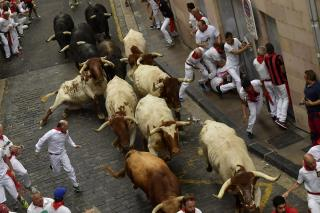 2 Americans Gored in Pamplona
