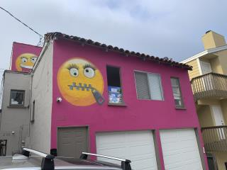 Neighbors Frown Over California Emoji House
