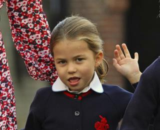 It's Princess Charlotte's First Day of School
