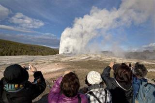 Stroll Up to Old Faithful Brings Charges for 2 Tourists
