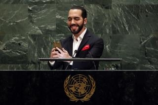 A Selfie, Then the UN Speech