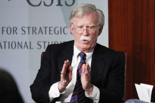 John Bolton's Stance Isn't Surprising. His Timing Is