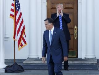 Trump Really Hammers Mitt