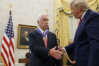 Racing Icon Receives Medal of Freedom