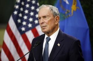 Poll: Bloomberg Would Enter Democratic Field in 6th Place