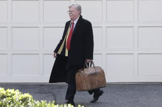 Bolton Hopes White House Won't 'Suppress' His Book