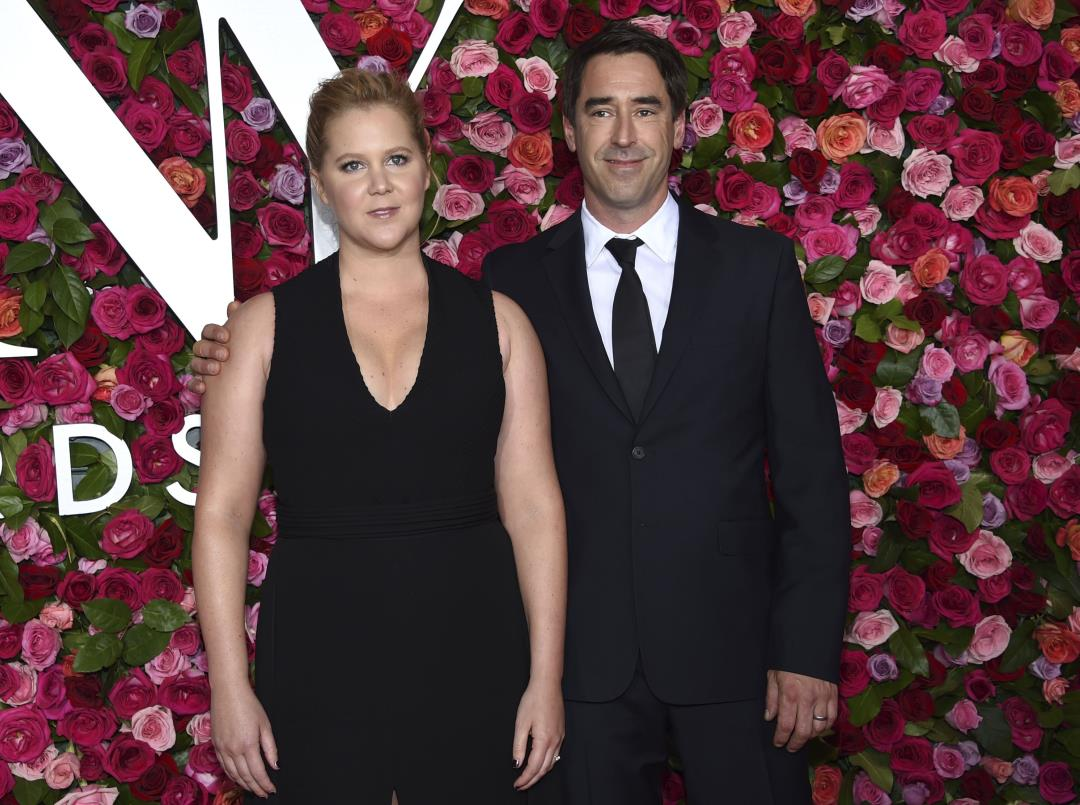 Photo of Amy Schumer: We Named Our Son 'Genital' by Accident | Newser