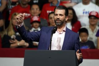 Trump Jr. Makes an 'Incendiary' Allegation