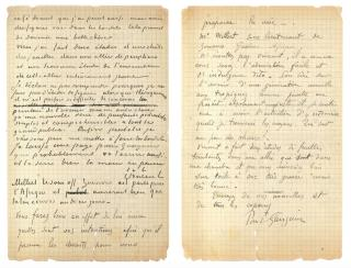 In $238K Letter, Van Gogh, Gauguin Talk Brothel Visits