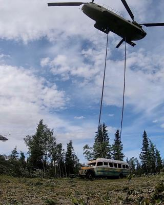'Into the Wild' Bus Airlifted Out of the Wild