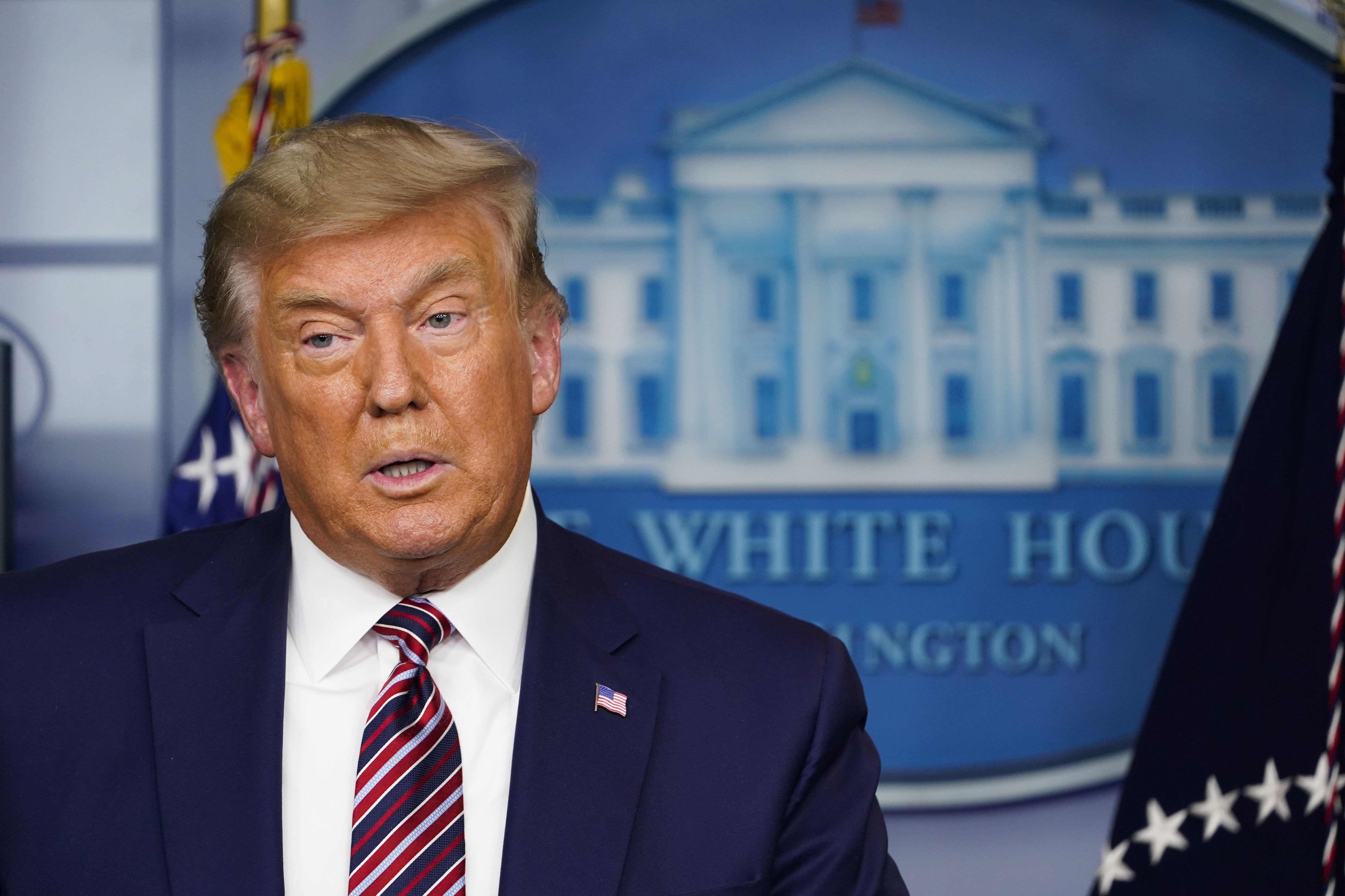 President Trump - cover