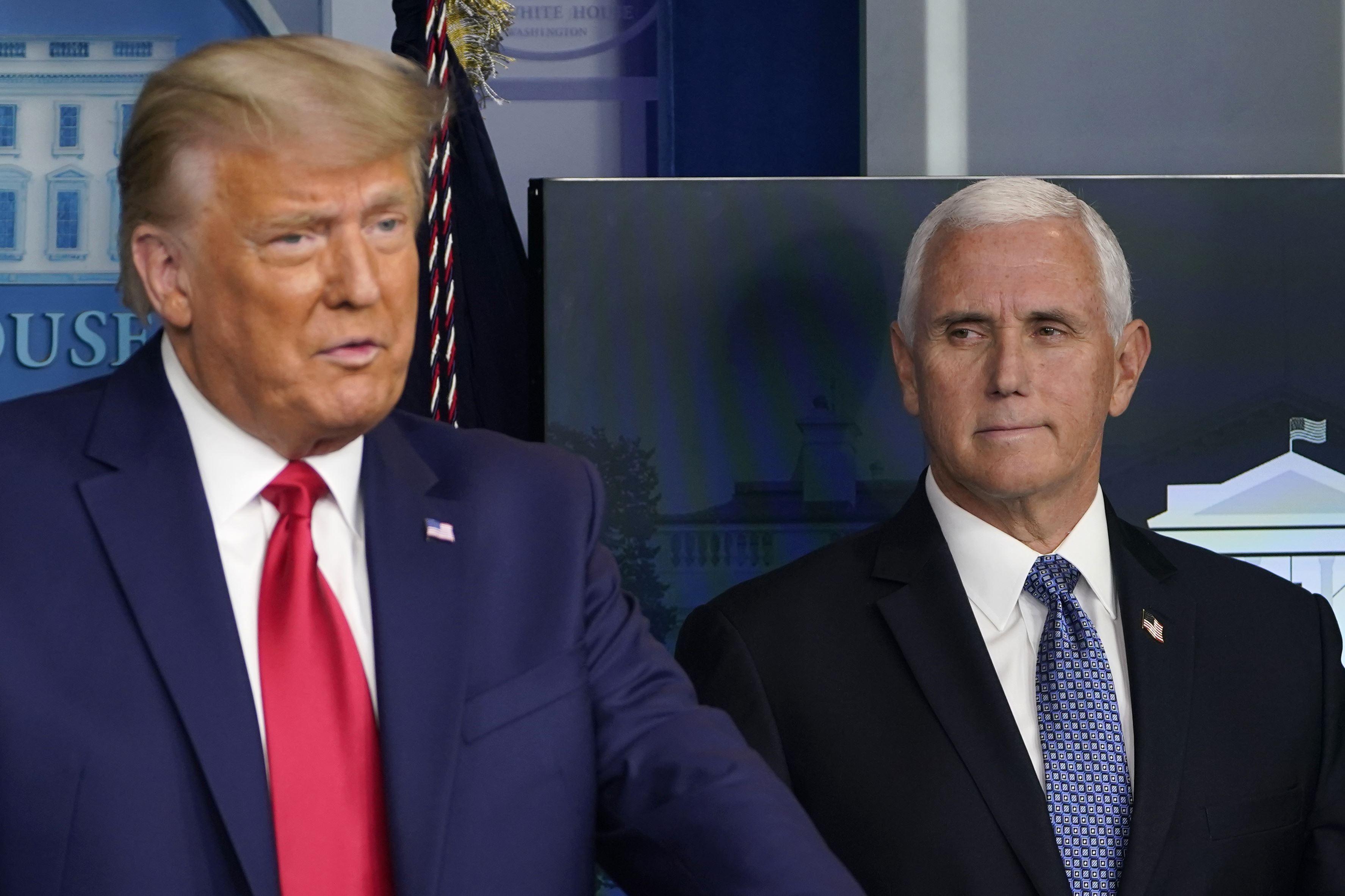 Congratulations, Trump Says, but Not to Biden