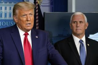 Trump and Pence Thaw Enough to Chat