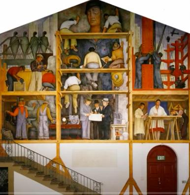 'Harebrained Scheme' Involving Diego Rivera Mural Goes Bust - Newser