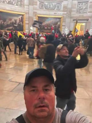 Alleged Capitol Rioter Sent Selfie to Federal Agent