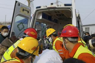 Trapped Workers Rescued After 2 Weeks in China Gold Mine