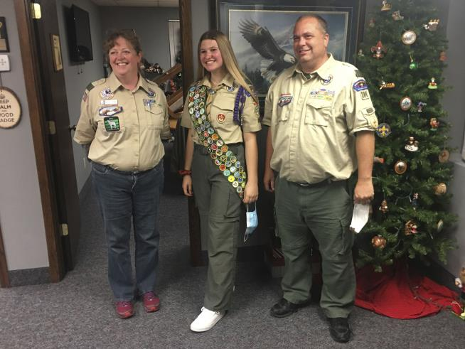 Boy Scouts Welcome First Female Eagle Scouts
