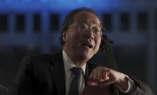 After His Shot, Yo-Yo Ma Plays for Those Under Observation