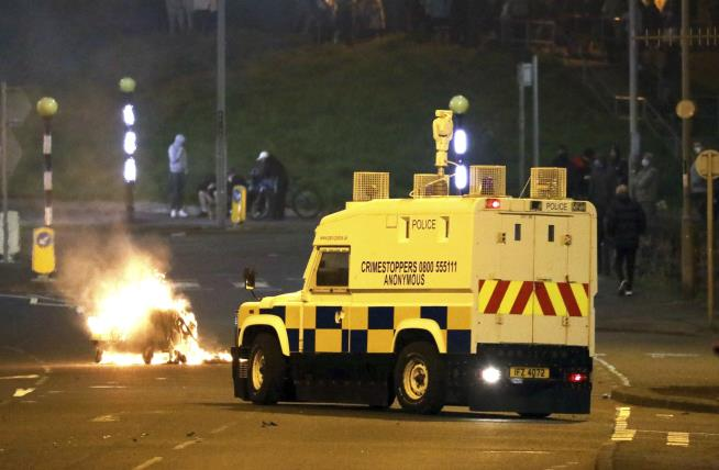 Police Attacked in Northern Ireland