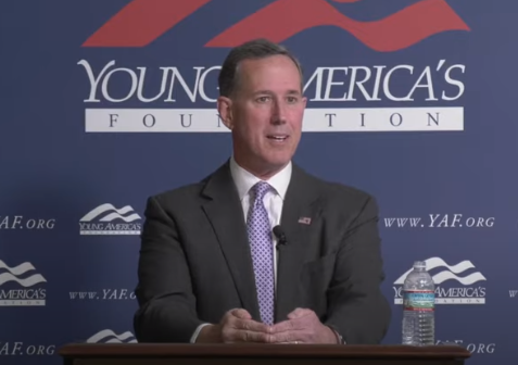Santorum: 'There Was Nothing Here' When Settlers Arrived
