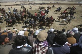 Afghans Revive Goat-Carcass Sport | Newser Mobile
