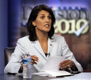 Nikki Haley Can't Seem to Pay Taxes on Time