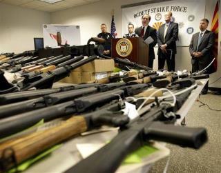 70% of Guns Seized in Mexico Come From US