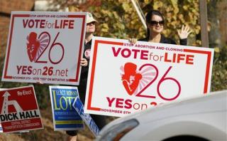 Mississippi Voters Reject Personhood Amendment That Would Have Banned Abortions in the State