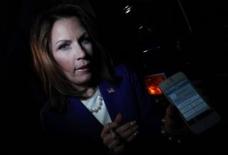 Michelle Bachmann Insists: Ron Paul Bribed My Guy