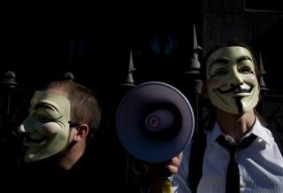 Anonymous Says Hackathon Hit PayPal, Lady Gaga   Newser Mobile