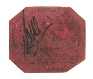 Stamp Owned by Killer Sets 4th World Record