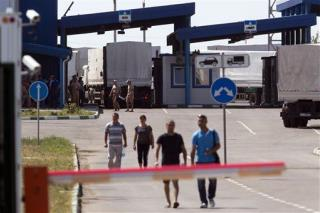 Long-Delayed Russian Convoy Enters Ukraine
