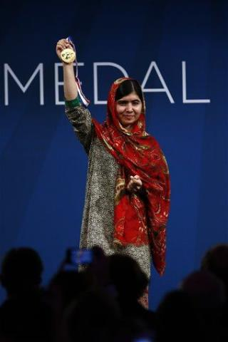 Malala to Obama: Books, Not Guns Will Fight Terror