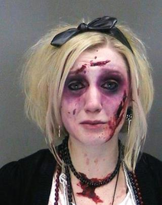 Zombie Woman Charged With DWI Twice in 3 Hours