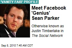 Meet Facebook 'Genius' Sean Parker