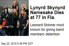 Lynyrd Skynyrd Namesake Dies at 77 in Fla.
