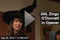 SNL Zings O'Donnell in Opener