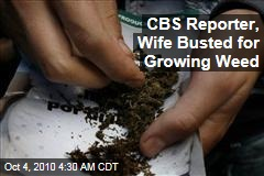 CBS Reporter, Wife Busted for Growing Weed