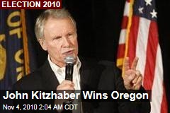 John Kitzhaber Wins Oregon